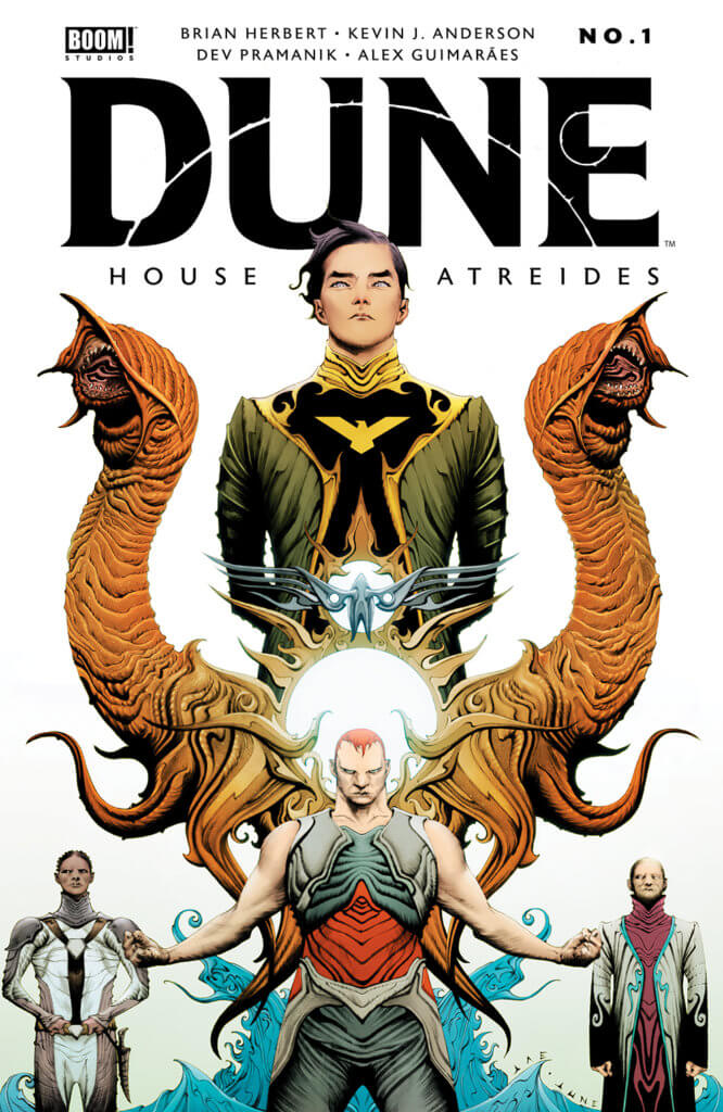 Dune: House Atreides #1 main cover