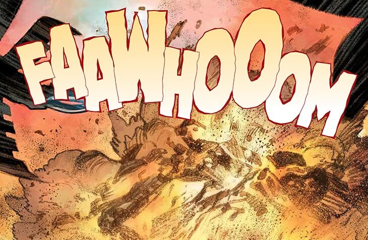 FAAWHOOOM panel from Dune: House Atreides #1