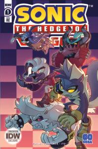 Sonic the Hedgehog: Bad Guys #1. IDW Publishing