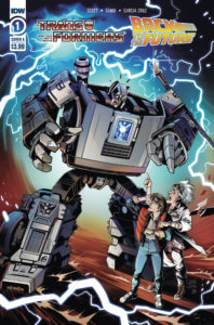 Transformers/ Back to the Future #1. IDW Publishing