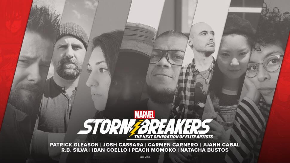 "Images of Marvels new ""Stormbreaker"" artists"