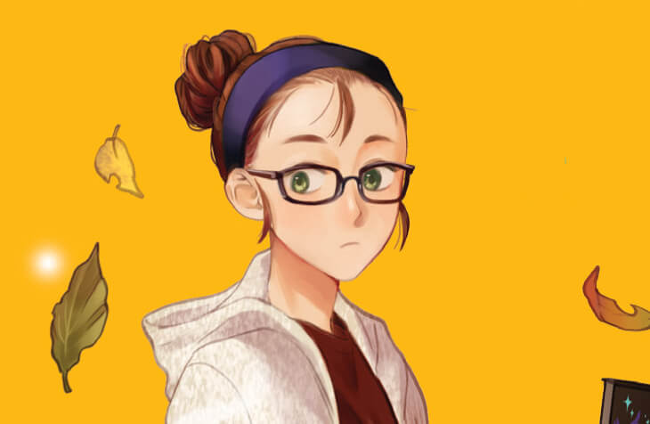 crop of the cover of fangirl for the featured image