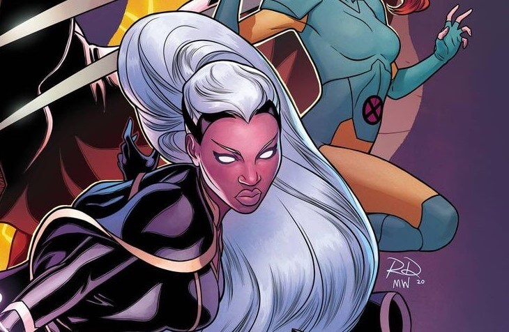 Storm by Russell Dauterman for Marauders #13