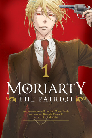 cover of Moriarty the Patriot