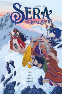 Sera and the Royal Stars #8 (Vault Comics, October 2020)