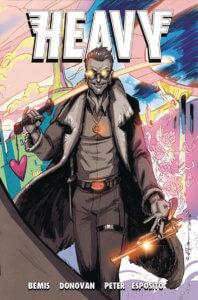 Cover of Heavy #2 (Vault Comics, October 2020)