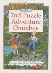 Brenda Haw's cover for the Vanishing Village/Usbourne Puzzle Adventure Omnibus, Usbourne, 1990