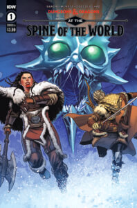 Dungeons and Dragons at the Spine of the World #1 Cover A. IDW Publishing