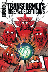 Transformers #24_Cover A. IDW Publishing