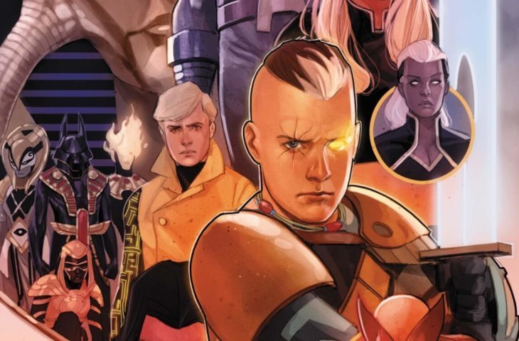 Crop of the Phil Noto cover of Cable #6