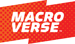 Macroverse Logo, red and jagged.