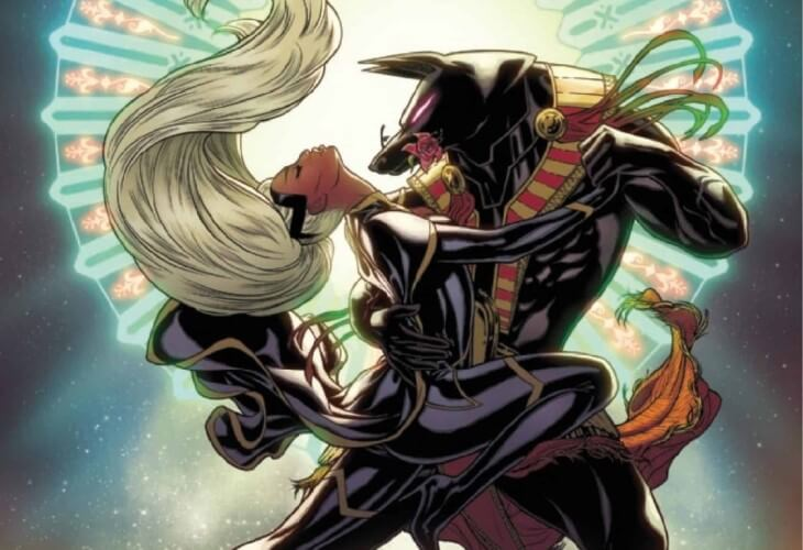 Storm and Death do a sexy tango