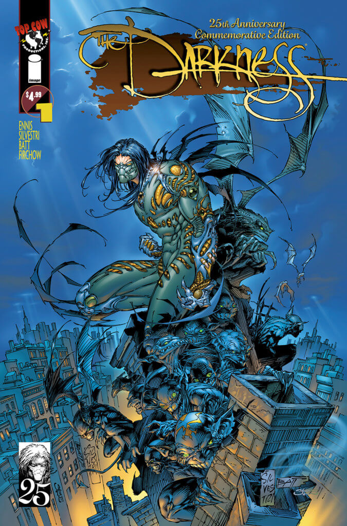 The Darkness #1 25th Anniversary Edition, cover by Marc Silvestri (Top Cow, November 2020)