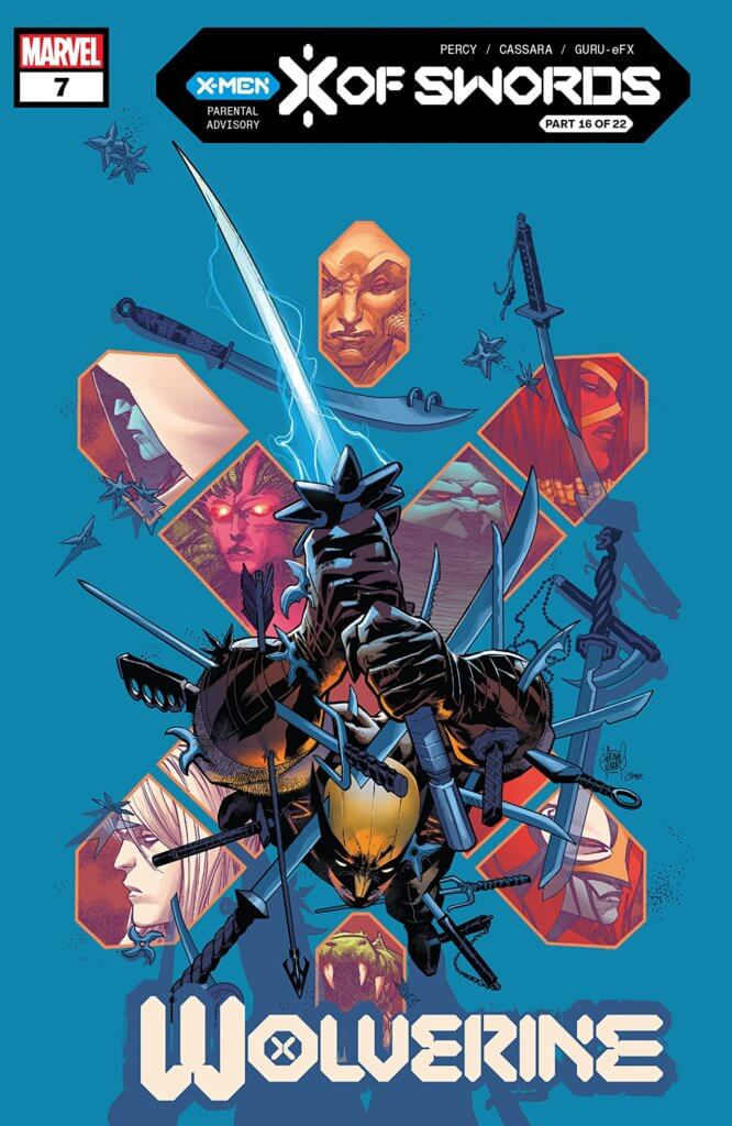 wolverine 7 cover