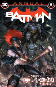 Clown Hunter about to take a swing at Batman