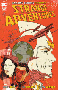 Propaganda poster of Adam Strange
