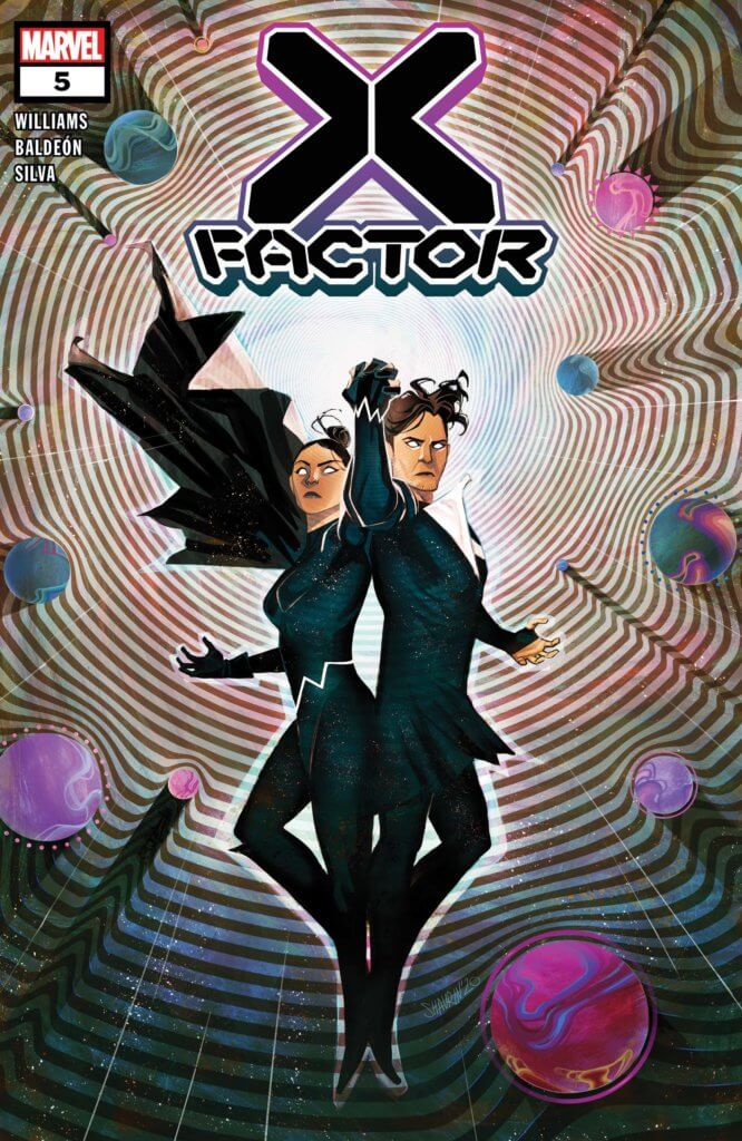 Northstar and Aurora on the cover of X-Factor #5