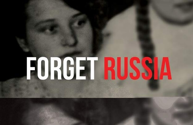 Cropped cover of Forget Russia for featured image