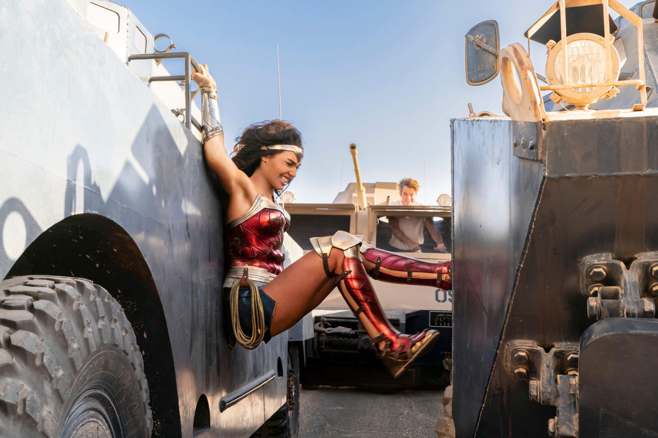 Gal Gadot as Wonder Woman in Wonder Woman 1984. Patty Jenkins (Director and Writer). Image courtesy Warner Brothers Media