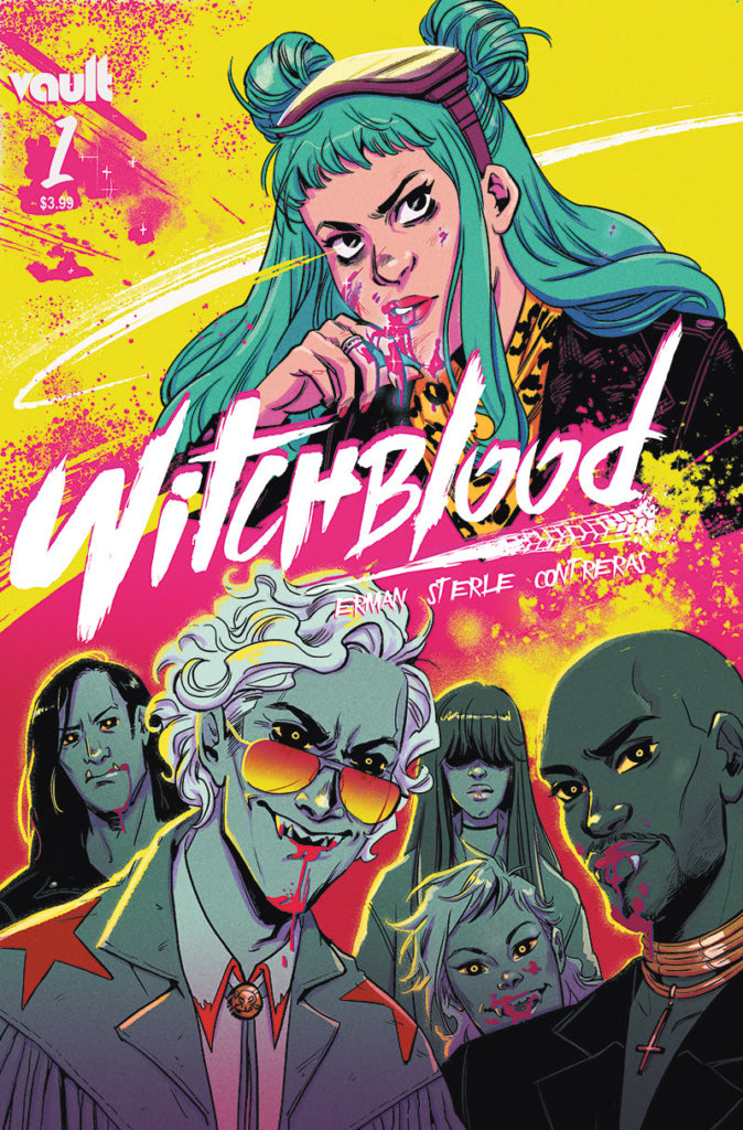 Cover of Witchblood #1