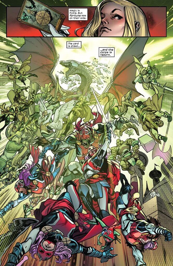 x of swords: destruction
