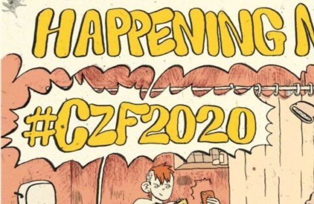 CZF 2020 Art by the incredible Caroline Cash.
