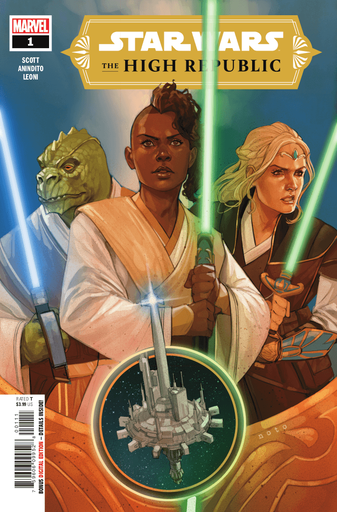 Star Wars: The High Republic #1. Marvel, Disney. January 6, 2021