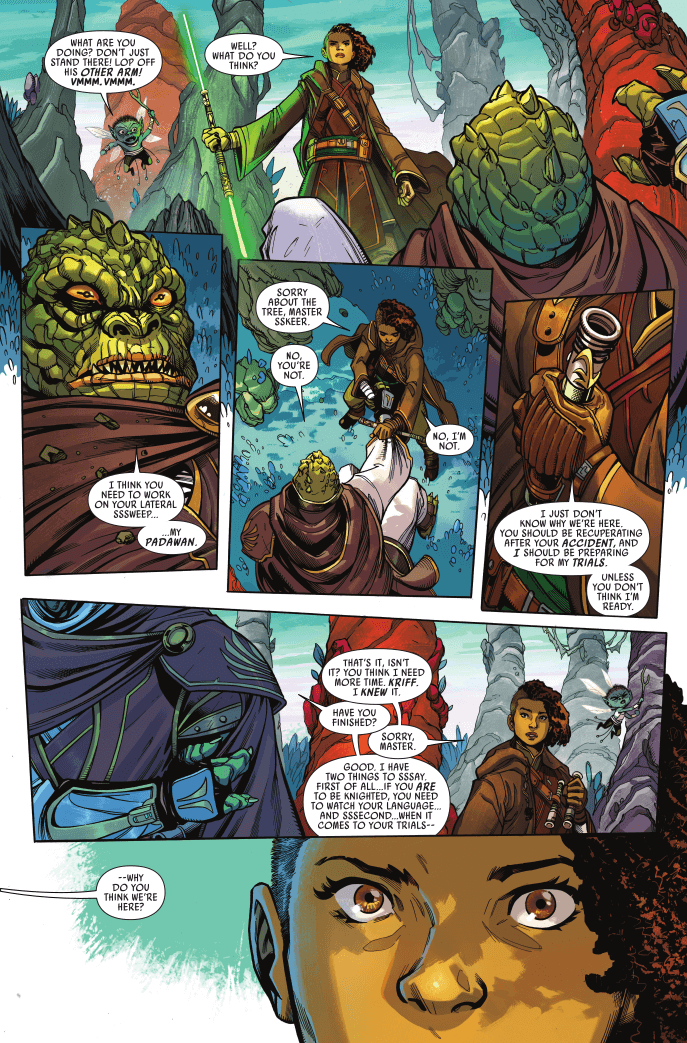 Star Wars: The High Republic #1 Page 7. Marvel, Disney. January 6, 2021