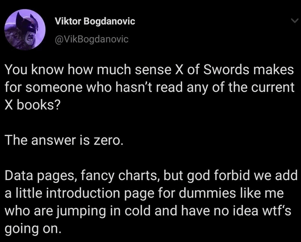 Viktor Bogdanovic runs his mouth on Twitter.