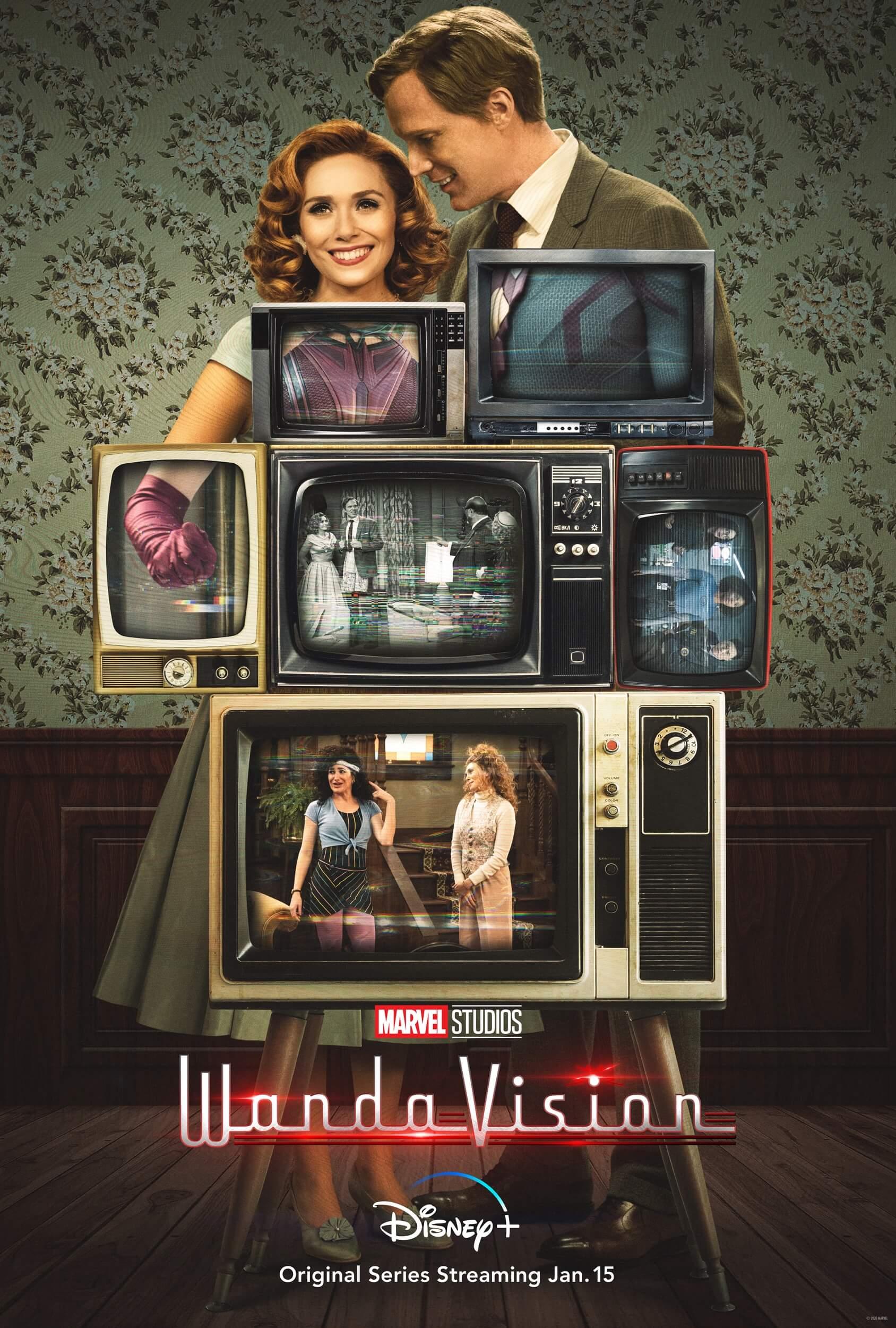 WandaVision, Marvel Studios at Disney Plus, 2021