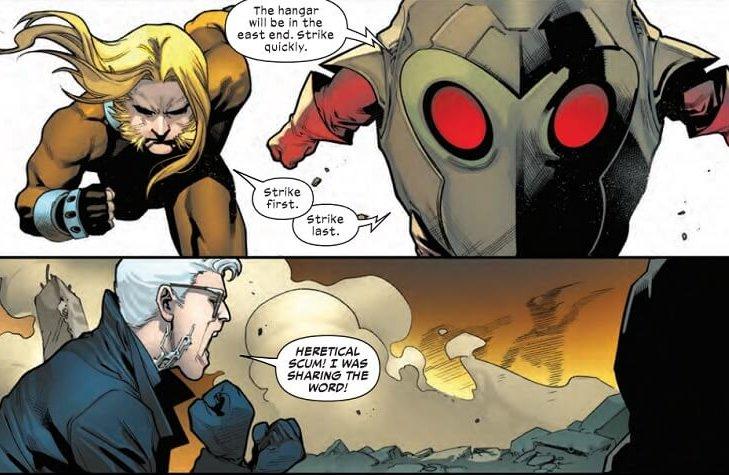 Hellions #8, Stephen Segovia, Marvel Comics, January 2021