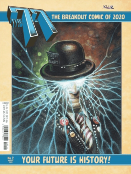 The 77 issue 2 cover