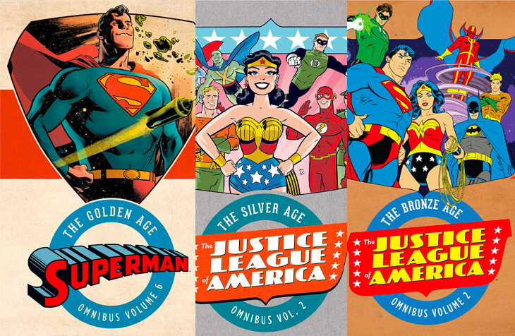 The ages of DC comics