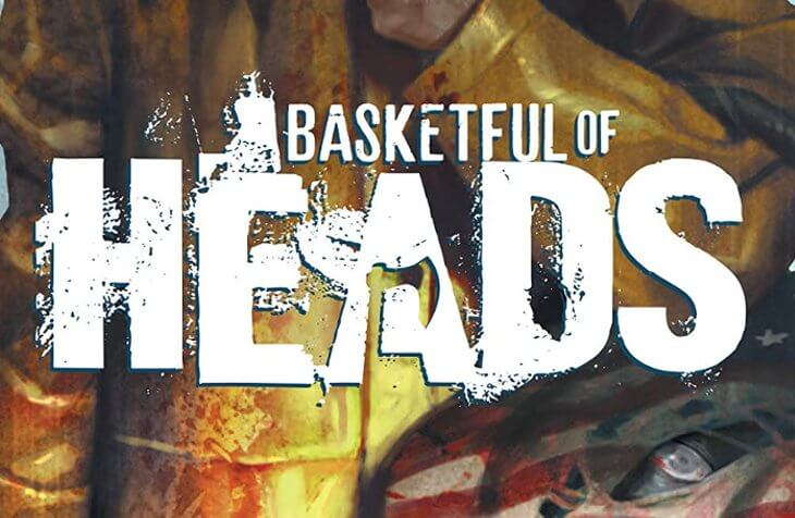 Detail from the cover of Basketful of Heads