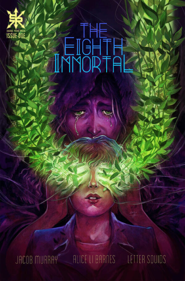 The cover of The Eighth Immortal #1