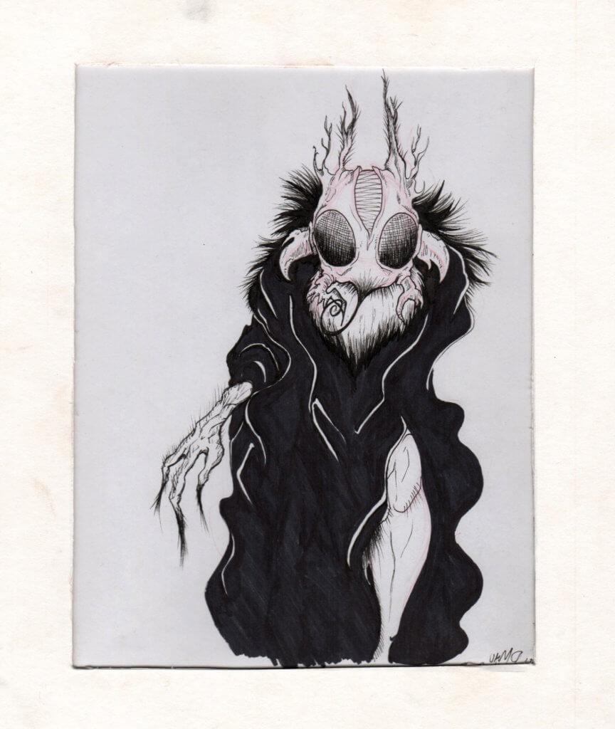 Freudian Bug illustration by Natalia Lopes