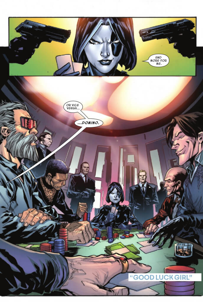 Marvel Voices: Legacy #1 Page 15. Marvel Comics. Sarah Brunstad and Will Moss (Editors). February 24, 2021