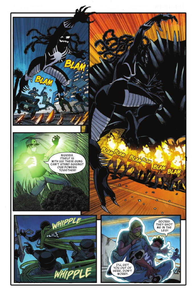 Marvel Voices: Legacy #1 Page 24. Marvel Comics. Sarah Brunstad and Will Moss (Editors). February 24, 2021