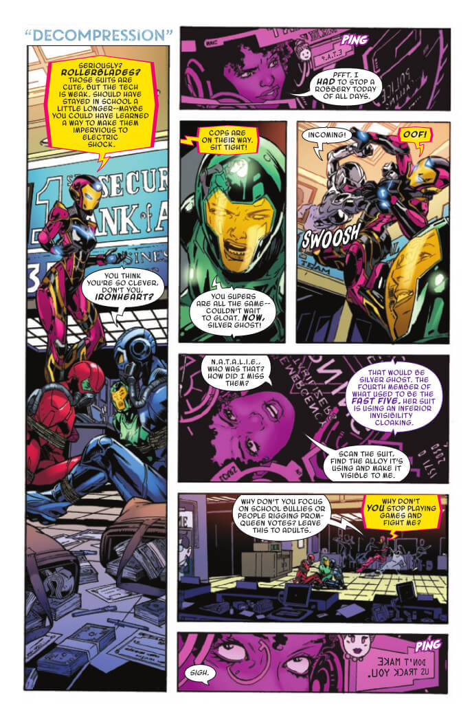 Marvel Voices: Legacy #1 Page 8. Marvel Comics. Sarah Brunstad and Will Moss (Editors). February 24, 2021