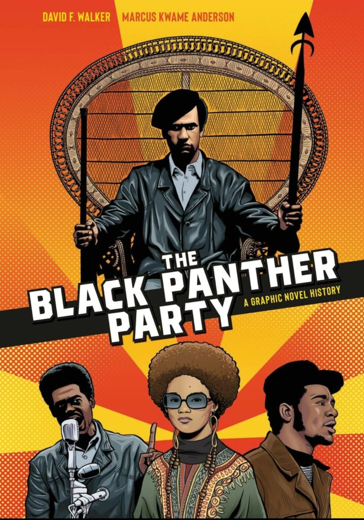 Cover of The Black Panther Party: A Graphic Novel History