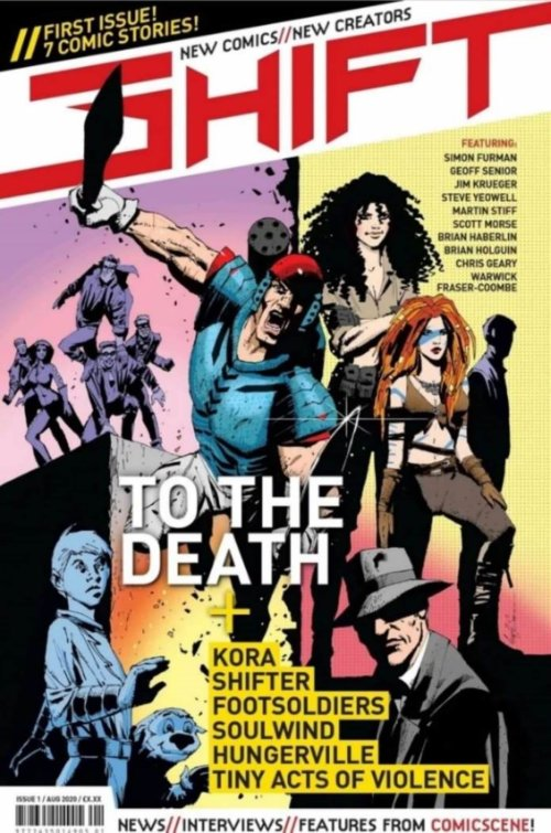 Shift issue 1 cover