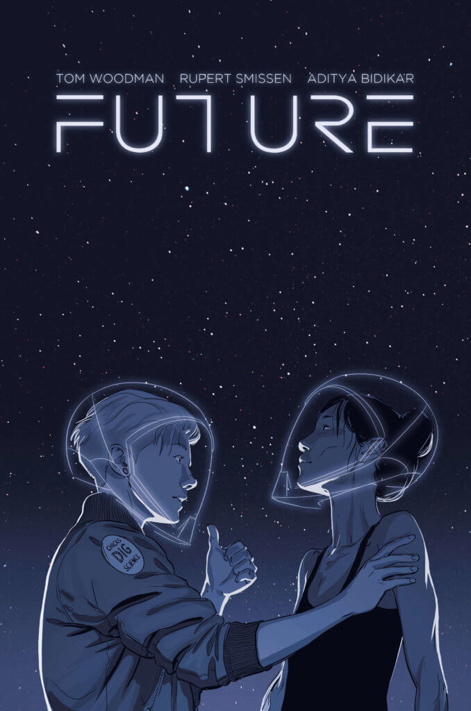 Cover image of graphic novel FUTURE
