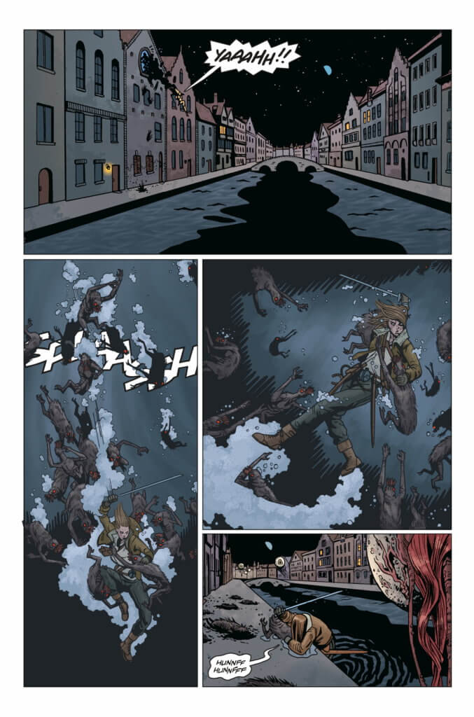 Panel from Lady Baltimore #1 (Dark Horse Comics, March 2021)