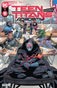 Red X and the new students of the Teen Titans Academy