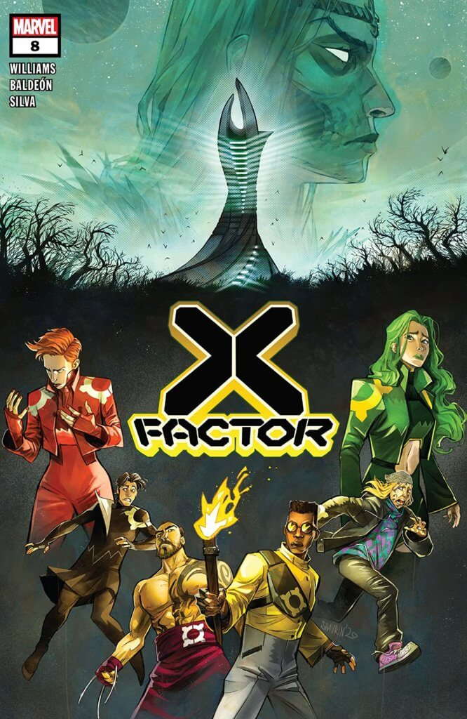x-factor #8 cover