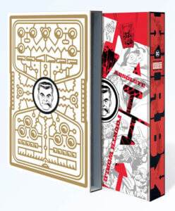 Slipcase and book for Absolute Jack Kirby Fourth World