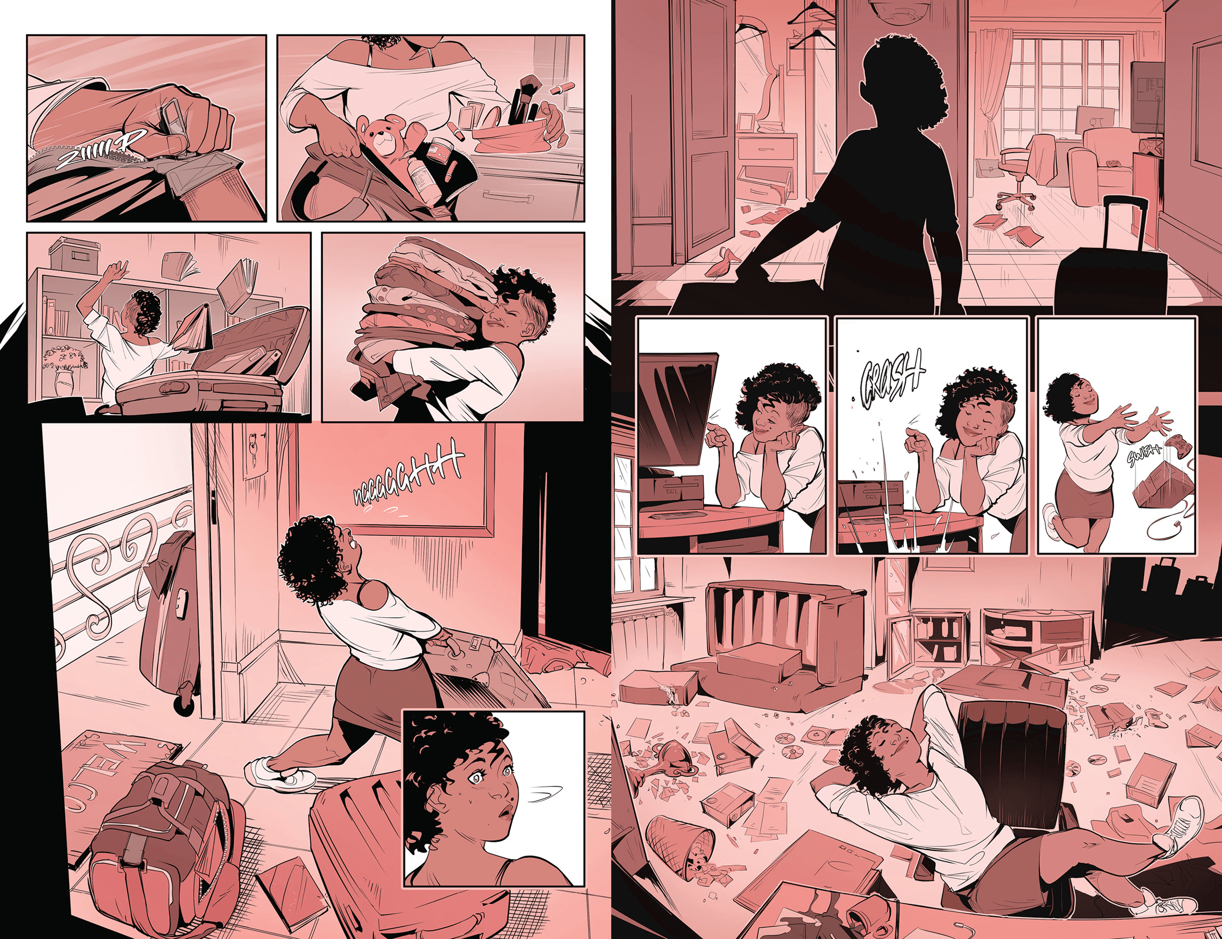 Alice in Leatherland #1 pages 9-10