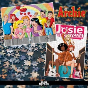 Pictures of the Archie and Josie and the Pussycats puzzles