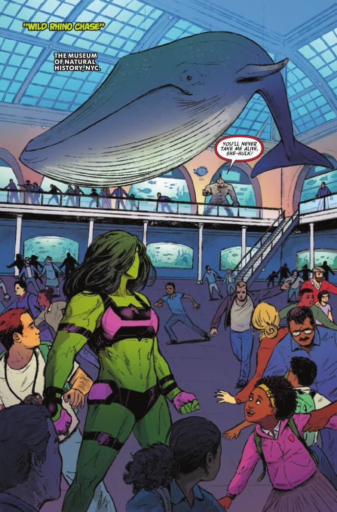 Women of Marvel #1 Page 27. Nadia Shammas (Writer), Skylar Partridge (Artist), Tríona Farrell (Colours). Marvel Comics April 21, 2021