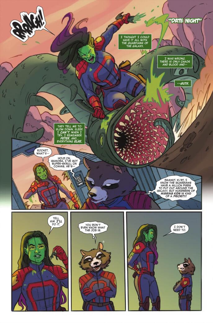 Women of Marvel #1 Page 3. Zoraida Córdova (Writer), Maria Fröhlich (Artist), Rachel Rosenberg (Colours). Marvel Comics April 21, 2021